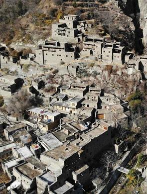 理县木卡老寨 珍藏2130年的建筑与人文