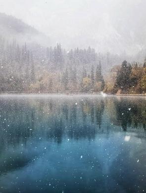 """阿坝多景区开启""""雪景模式"""""""