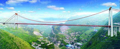 赤水河大桥将于明年通车