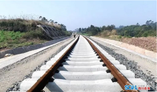 仁寿境内首条铁路线预计年底开通
