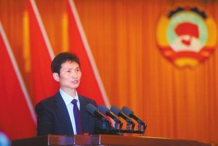 成都市政协委员、都江堰市政协副主席周中国。