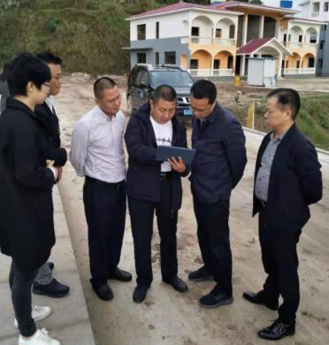射洪县水利局开展群英供水站选址工作