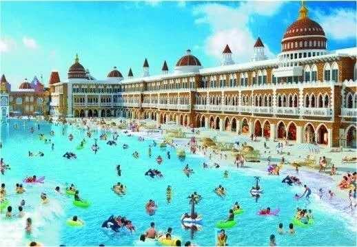 人造天空沙滩海滨浴场