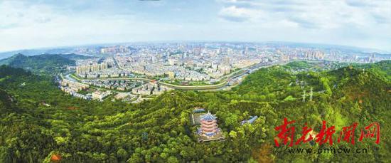 大城蓝图徐徐展开 到2025年南充将双超两百