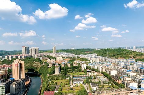 安岳和乐至两县gdp_四川唯一一个所有区县的GDP都超过210亿的城市,不是成都,尴尬