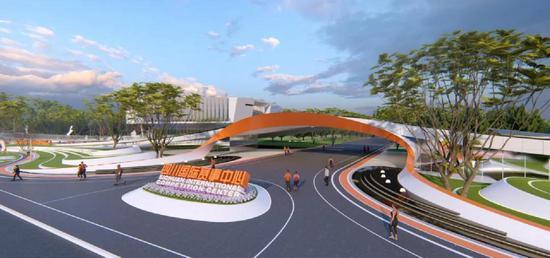 四川国际赛事中心(效果图)