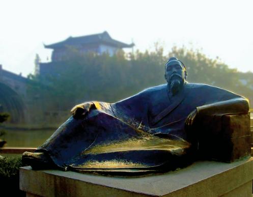 安岳安葬着举世闻名的大诗人