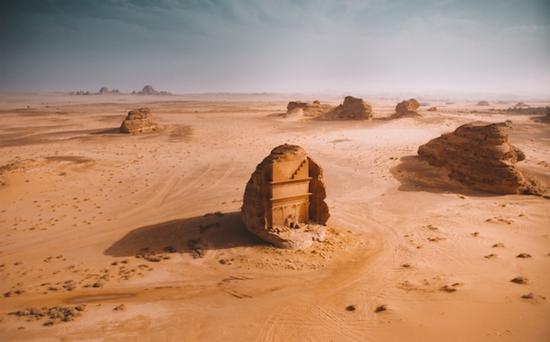 Mada'in Saleh玛甸沙勒(沙特阿拉伯的考古遗址)   摄影师:Gabriel Scanu