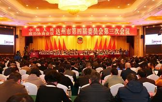 市政协第四届委员会第三次会议开幕