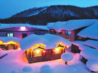 雪乡景色(图片由受访者易含提供)