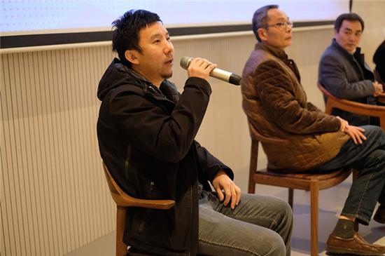 北京圣唐创意首席设计师李鹏先生发言