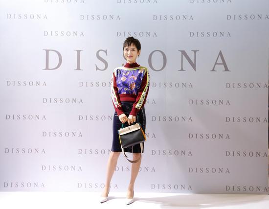 李晓峰出席2018DISSONA春季系列成都发布会