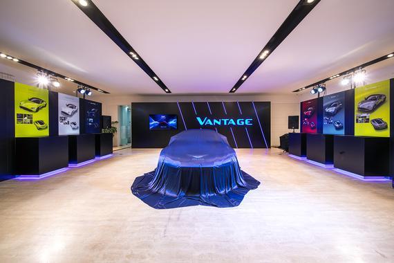 阿斯顿·马丁全新Vantage成都发售