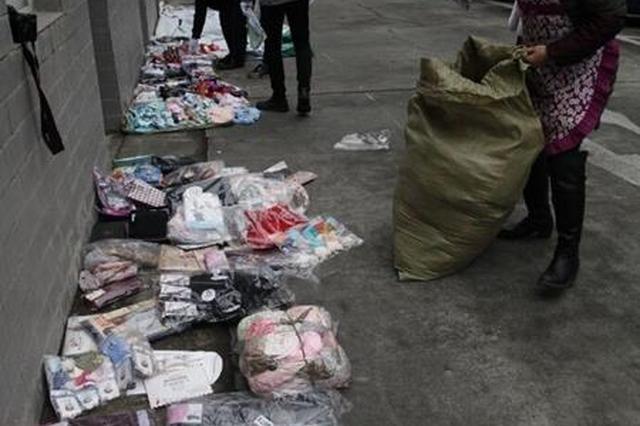 2人偷了5次 内衣裤、袜子……赃物可开一场展销会了
