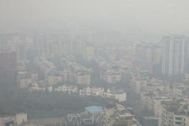盆地区域污染已经出现 成都处于高污染物浓度集中区