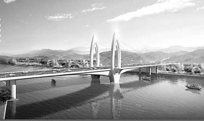 今年乐山城建大动作:新建4座桥 两条隧道穿绿心