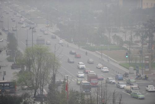 四川盆地现区域性污染过程 预计9日有所缓解