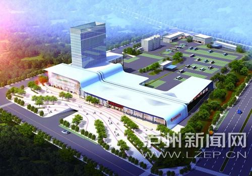 泸州城西客运站主体工程年底完成 预计明年7月投用