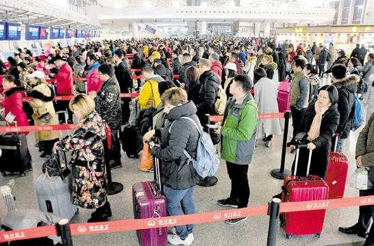 春节大假倒计时 成都迎来返程客流高峰