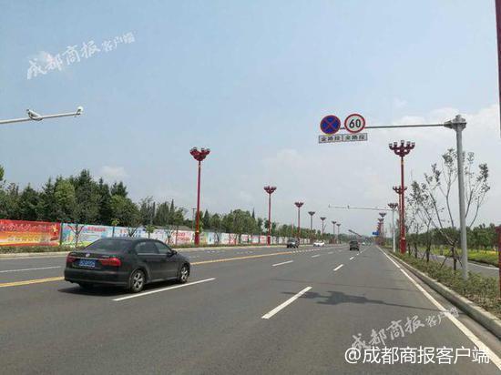 注意!眉山滨江大道全段限速60公里/小时