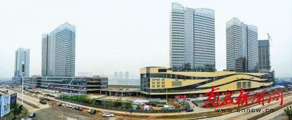 打造南充浦东 川东北金融中心初具雏形