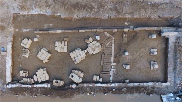 拆迁挖出潼川府遗址 绵阳首次发现明清文庙建筑基址