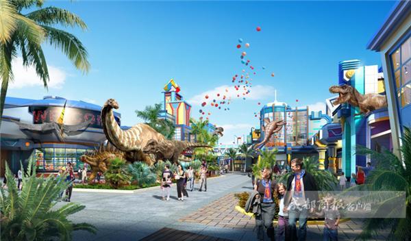 自贡打造中国侏罗纪公园 将占地1000亩2020年试营业