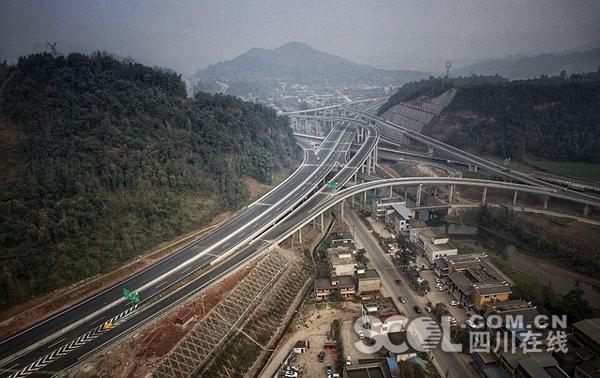 2018四川这5条高速全线或部分路段通车 经过你家乡吗