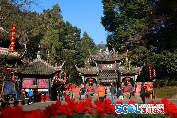 2018年春节大假首日 四川70家景区门票收入同比增长109.3%