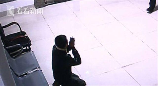 小伙毒驾猛撞泸州交警队大门 下跪求救称被人追杀
