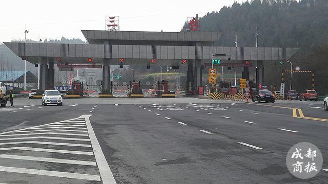 好消息 成德南高速三台段连接线正式通车