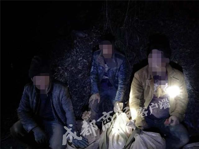 甘孜10人结伴盗金矿 刚到手就被等候多时的民警抓获