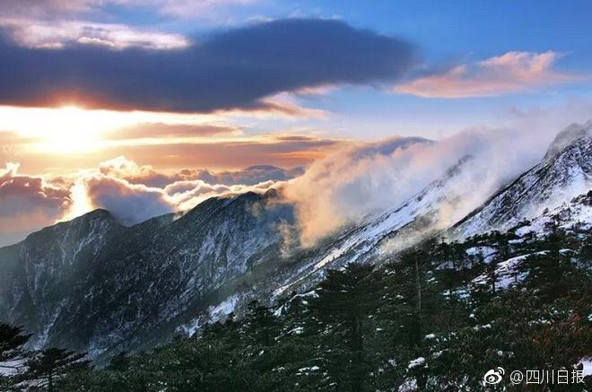 凉山海拔3500米的神秘仙境