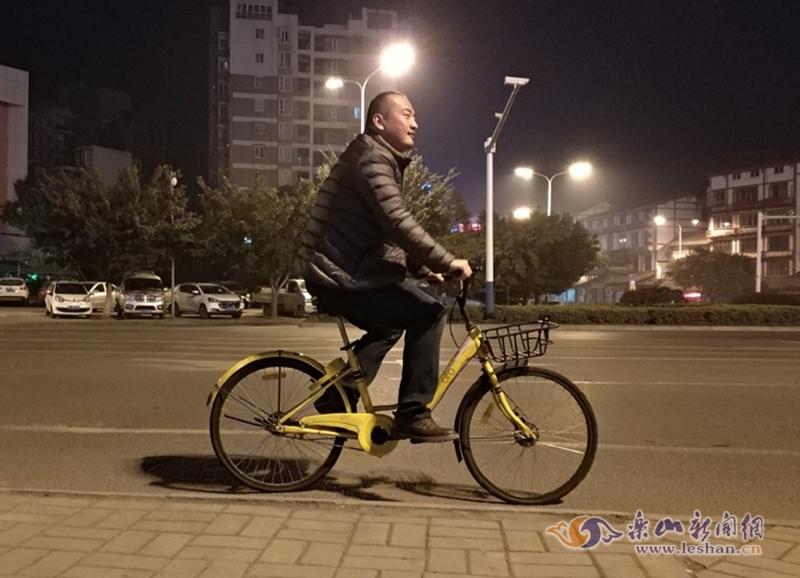 乐山民警下班骑单车偶遇偷车贼 将其拿下