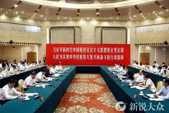 山东省党政代表团在新疆调研对口支援工作