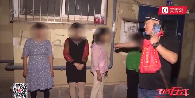 4名卖淫女青岛街头拉客被抓 年龄最大60岁