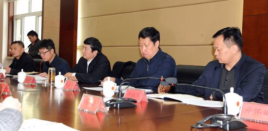 济南市市场监管局党组书记刘永浩带队到历下区、高新区调研督导企业年报工作