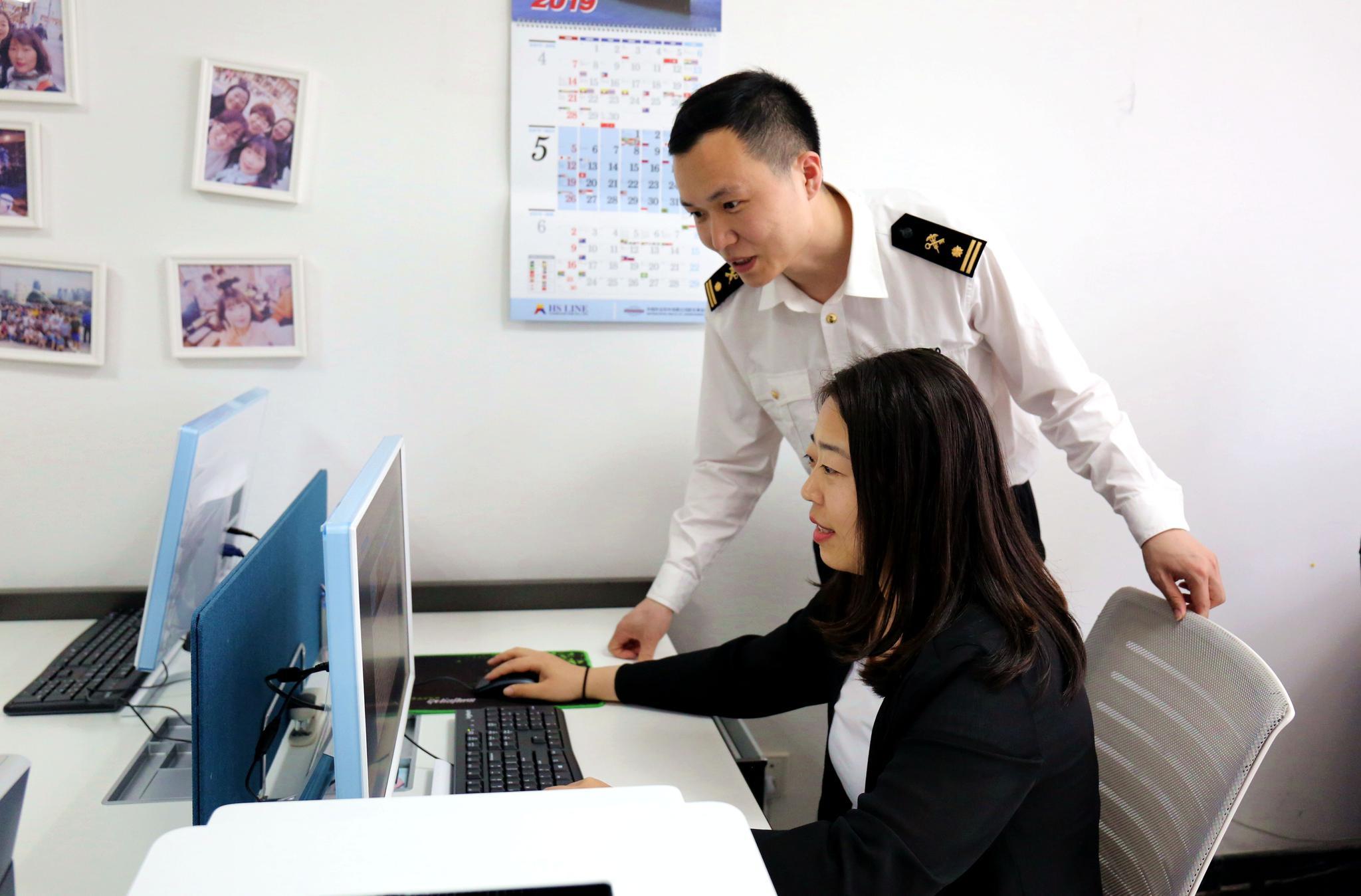 山东首份企业自助打印原产地证书签出