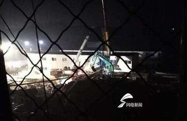 山东高唐打桩机倒向工棚事故死亡人数已上升至4人