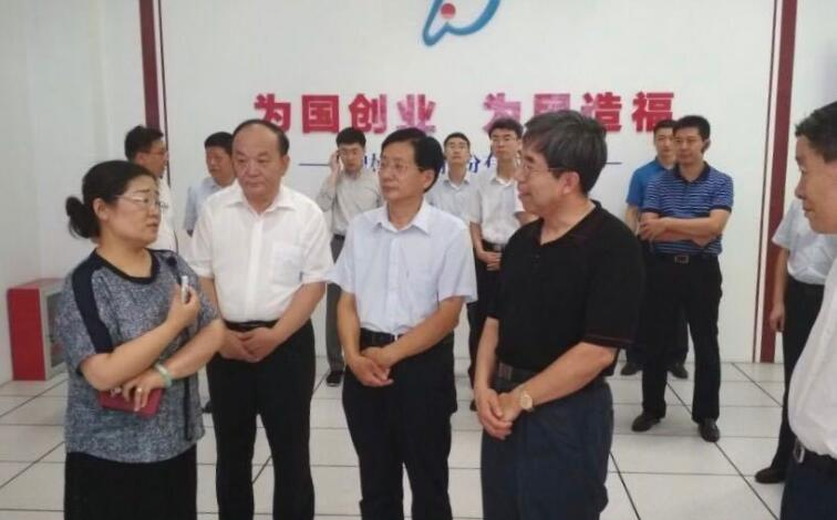 国务院发展研究中心党组书记马建堂来滨调研