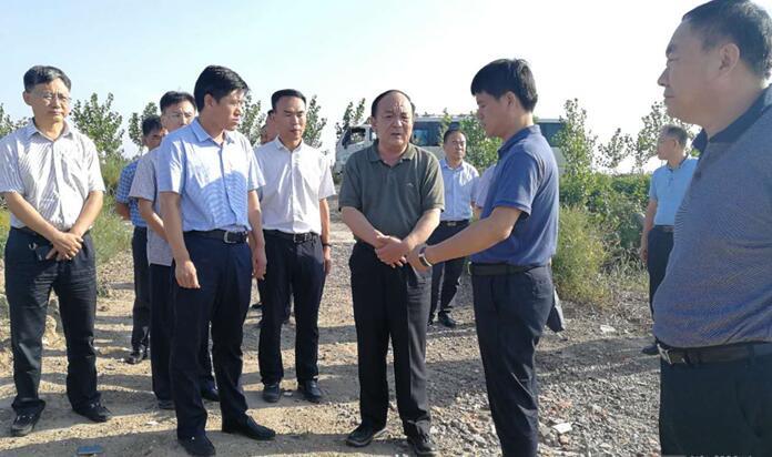 宇向东到邹平县博兴县检查调度防汛工作