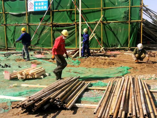 【复工复产】中国供销·滨州农产品电商物流园顺利复工复产