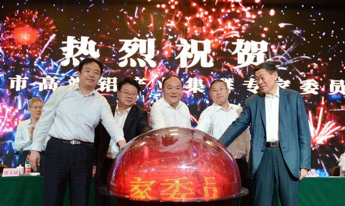 滨州市高端铝产业集群专家委员会正式成立 宇向东出席