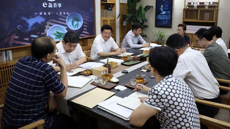 """佘春明邀滨州各民主党派工商联""""e盏茶事""""叙发展"""