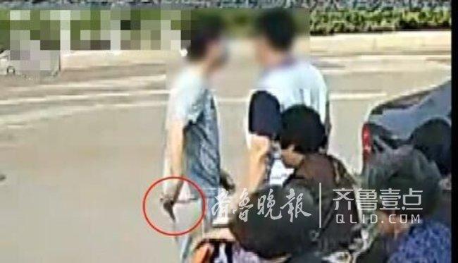 只因玩网络游戏起冲突 济南男子竟持刀约架伤人
