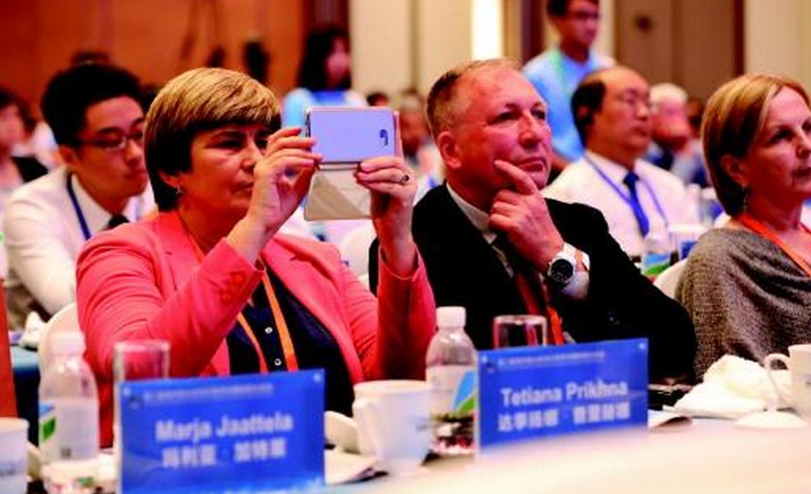 来自全世界的院士一起交流,为新旧动能转换注入技术动力
