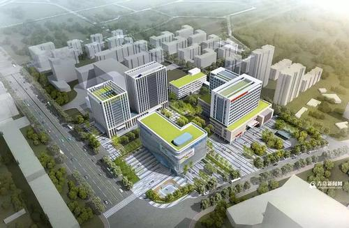 青岛市公共卫生临床中心选址这个区 计划设床位1000张
