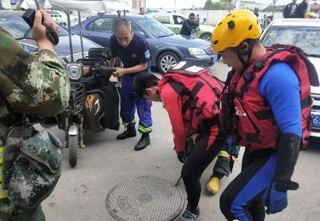 青岛男子爬进地下管网躲猫猫 警方调取下水道分布图