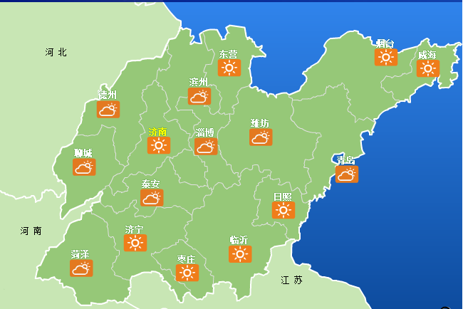 与高温说再见 周末冷空气要来山东 这些地区有雷阵雨