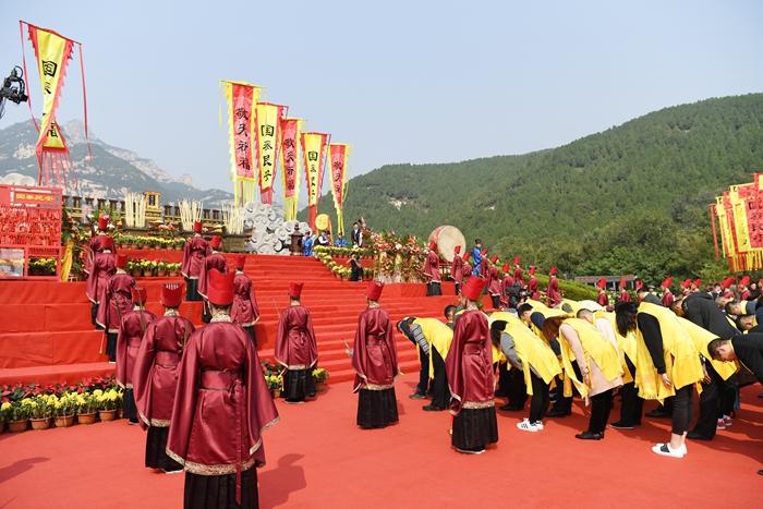 海峡两岸暨全球华人敬天祈福活动举行